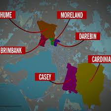 Coronavirus Victoria hotspots ...