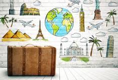 wallpaper for travel decor