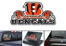 Cincinnati Bengals Car Vehicle Window Bumper Decal 6x3