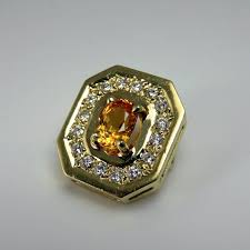 sapphire diamond pendant luxury
