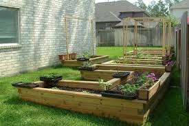 raised garden beds pallet wood projects