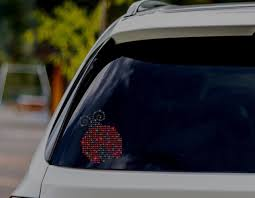 Ladybug Bling Decal Made With Rhinestones For Any Vehicle Etsy Bling Decal Rhinestone Car Decal Car Bumper Stickers
