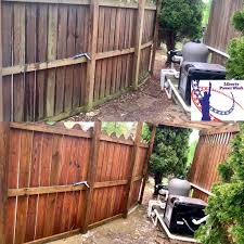 Fence Cleaning Liberty Power Wash