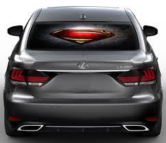 Amazon Com Superman Shield Perforated Vinyl Decal Rear Window Car See Thru Gc3351 15x30 Baby