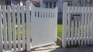 Picket Fence And Gate Better Quality Fencing Decking Sydney
