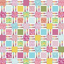 Picket Fence Quilt Pattern In 6 Sizes From Wall To King Layer Cake And Yardage Friendly Pdf Patter Quilt Patterns Free Motion Quilting Patterns Easy Quilts