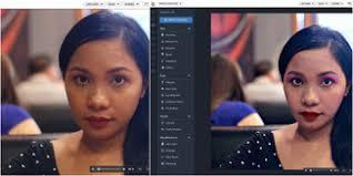 free photo face makeup editor