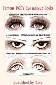 image result for 1920s makeup tutorial