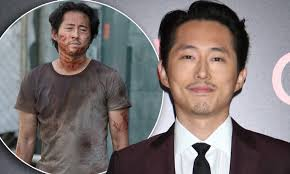 Steven Yeun says TWD character 'never got his fair due' | Daily Mail Online