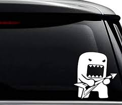 Amazon Com Domo Kun Monster Rockstar Jdm Japanese Decal Sticker For Use On Laptop Helmet Car Truck Motorcycle Windows Bumper Wall And Decor Size 6 Inch 15 Cm Tall Color Matte