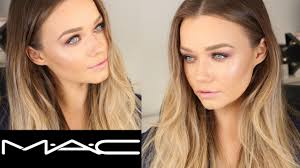 mac cosmetics makeup application