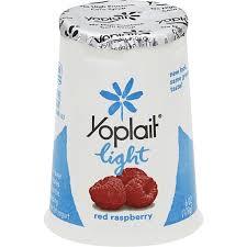 yoplait light yogurt fat free red