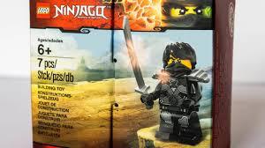 LEGO Ninjago 2016 Stone Armor Cole exclusive set revealed! - YouTube
