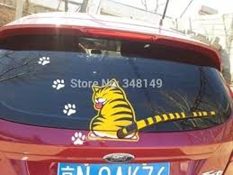 Aliauto Car Decoration Cat Moving Tail Window Wiper Sticker Rear Windshield Stickers Decals For Chevrolet Ford Focus Vw Skoda Windshield Stickers Car Decorationrear Window Decals Aliexpress