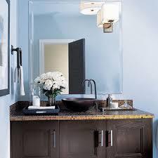 blue color in bathroom tile design