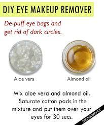 how to naturally remove eye makeup