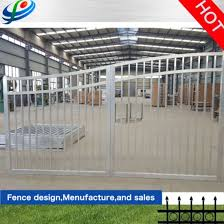 China Powder Coated Temporary Fence Wrought Iron Barrier Road Expandable Automatic Retractable Electric Sliding Gate Folding Barricade Gate China Metal Fence Gate And Aluminium Fence Price