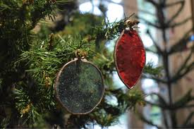 simple stained glass ornaments