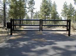 Farm Pipe Fence Entrance Gate Decoredo