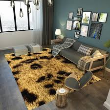carpet cowhide leopard print skin