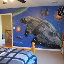 Star Wars Wall Decals Art Home Inspirations Kids Room Star Wars Wall Art Ideas