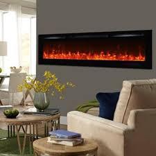 flush mount electric fireplace