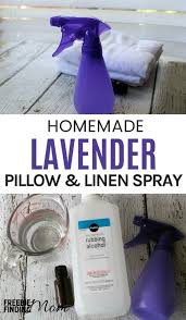 homemade lavender linen spray recipe