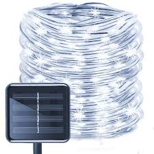 Solar Rope String Lights 50led Waterproof Copper Wire Lights Tube 23ft Outdoor Rope Lights For Christmas Garden Yard Path Fence Tree Party Ball String Lights Deck String Lights From Crestech 5 16 Dhgate Com