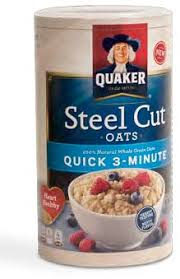 try quaker s quick cooking
