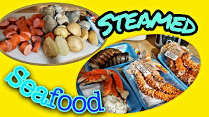 Boiled & Steamed Seafood - YouTube