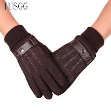 leather gloves mittens