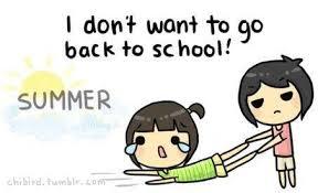 Don't Like School Clipart