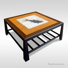 large square poseidon coffee table