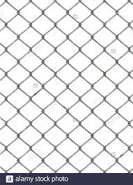 Chain Link Fence Cut Out Stock Images Pictures Alamy