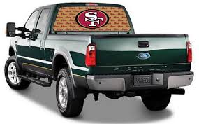 San Francisco 49ers By Igx Nfl Truck Rear Window Decal On Popscreen