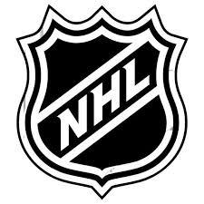 Nhl Ice Hockey League Logo Sticker Vinyl Decal Wall Art 180 Etsy