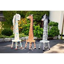 Safari Jungle Zebra Chair And Clothes Stand