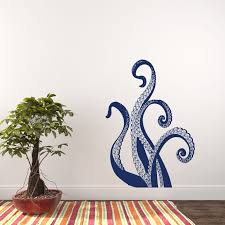 Breakwater Bay Octopus Wall Decal Reviews Wayfair