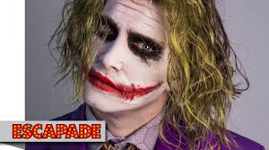 joker makeup tutorial halloween