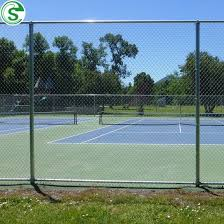 China 10ft Outfield Fence Football Court Fence Screen Volleyball Court Fence China Basketball Court Fence Netting Tennis Court Fence Price