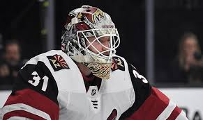 Adin Hill to start for Coyotes in net on Tuesday against Panthers