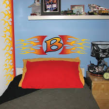 Flame Wall Mural Decals For Boys Room Walls
