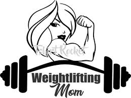 Fitness Weightlifting Mom Decal Awesome One Of A Kind Vinyl Etsy