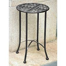 round patio table wrought iron patio table