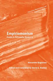 historical monism in empiriomonism