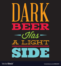 set stylized quotes on topic beer color royalty vector