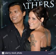Adam Beach And Wife Tara High Resolution Stock Photography and ...
