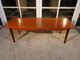retro vintage parker eames coffee table