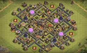 town hall 10 farming base to protect ...