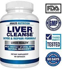 arazo nutrition liver cleanse detox